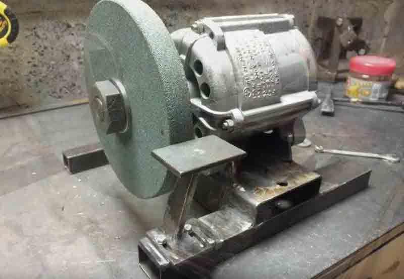 Как самостоятельно изготовить наждак из двигателя стиралки?