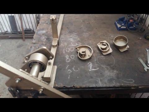 Станок для холодной художественной ковки своими руками: чертеж, инструкция и видео