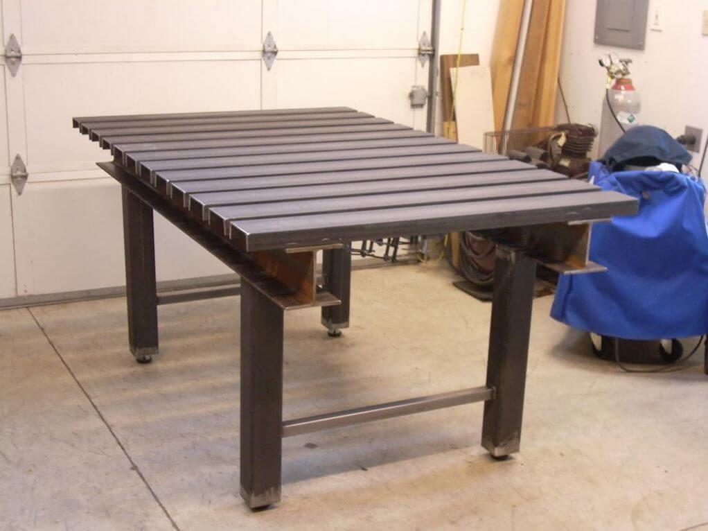 Изготавливаем сварочный стол своими руками