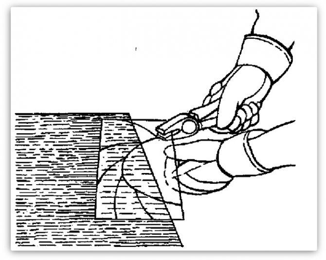 Подробная инструкция: как правильно резать зеркало стеклорезом - техника