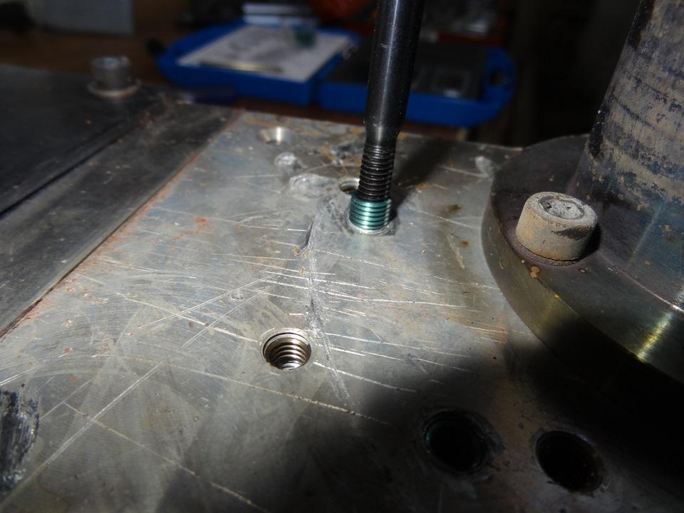 Как восстановить резьбу в алюминии? - справочник по металлообработке и оборудованию