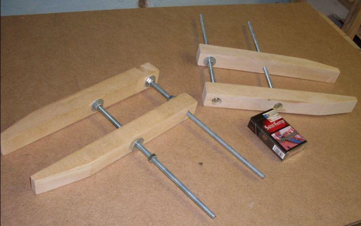 Столярная струбцина: виды и изготовление своими руками