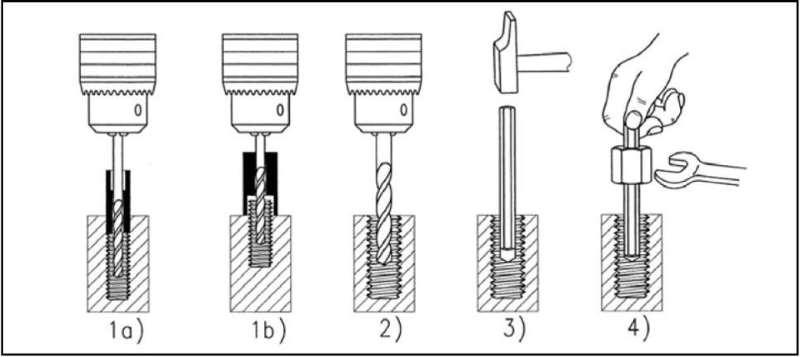 Как просто извлечь обломанный болт из любой детали - легкий способ
