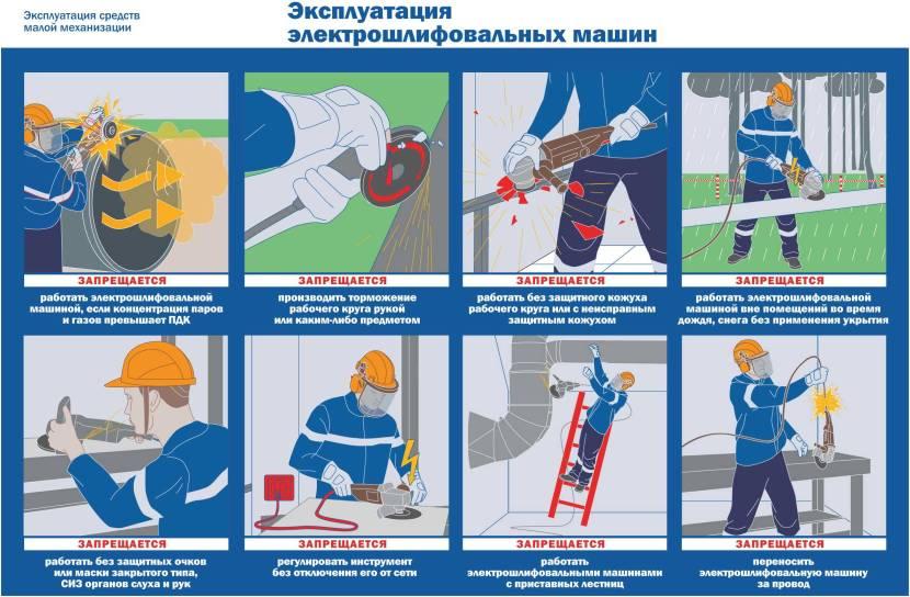 Не навреди! техника безопасности при работе с болгаркой