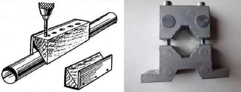 Кондукторы для сверления отверстий: виды для перпендикулярного и вертикального сверления, для лдсп и дсп, другие модели