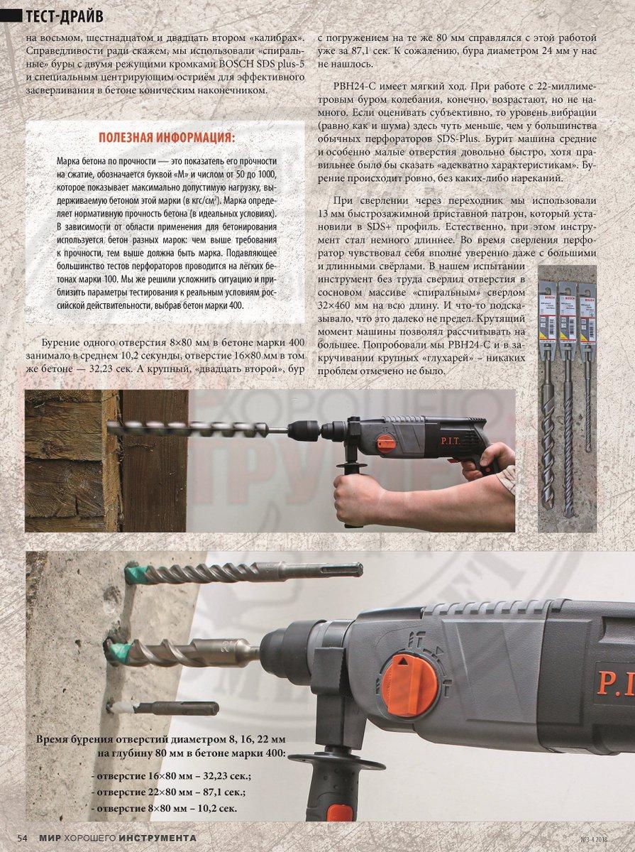 Сверление бетона: инструменты, сверла, пошаговая инструкция