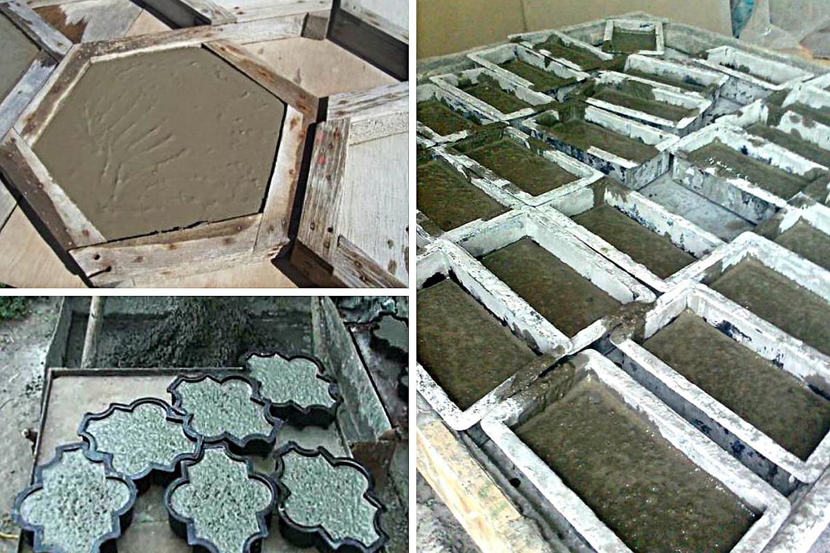 Архитектурный бетон: виды, состав и технология изготовления