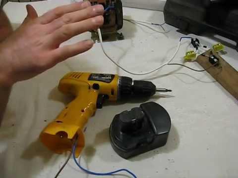 Как переделать шуруповерт на 220 вольт правильно