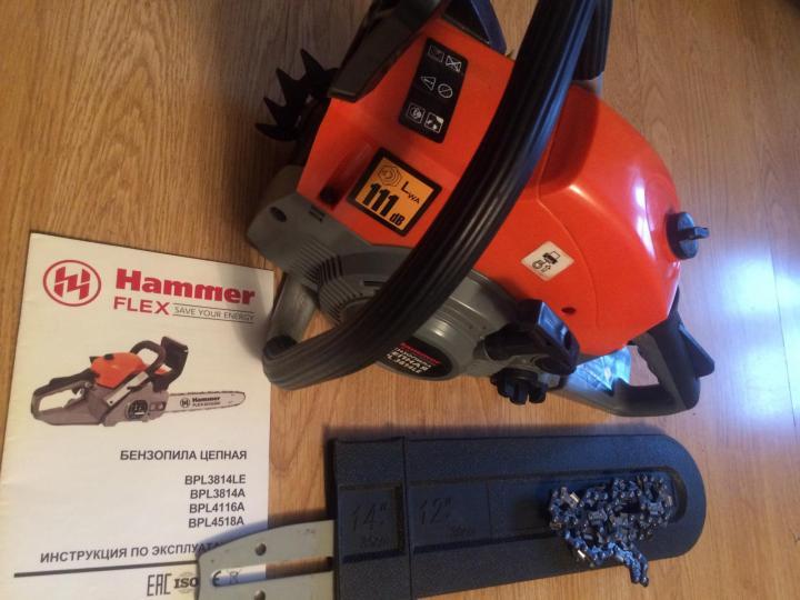 Бензопилы hammer: обзор популярных моделей | 101 бензопила