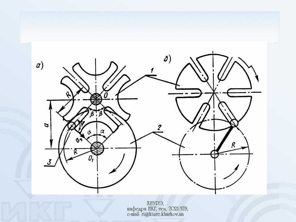 Мальтийский механизм принцип действия, расчеты, применение   строитель промышленник