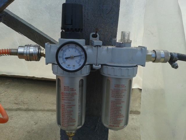 Воздушный компрессор для пескоструя