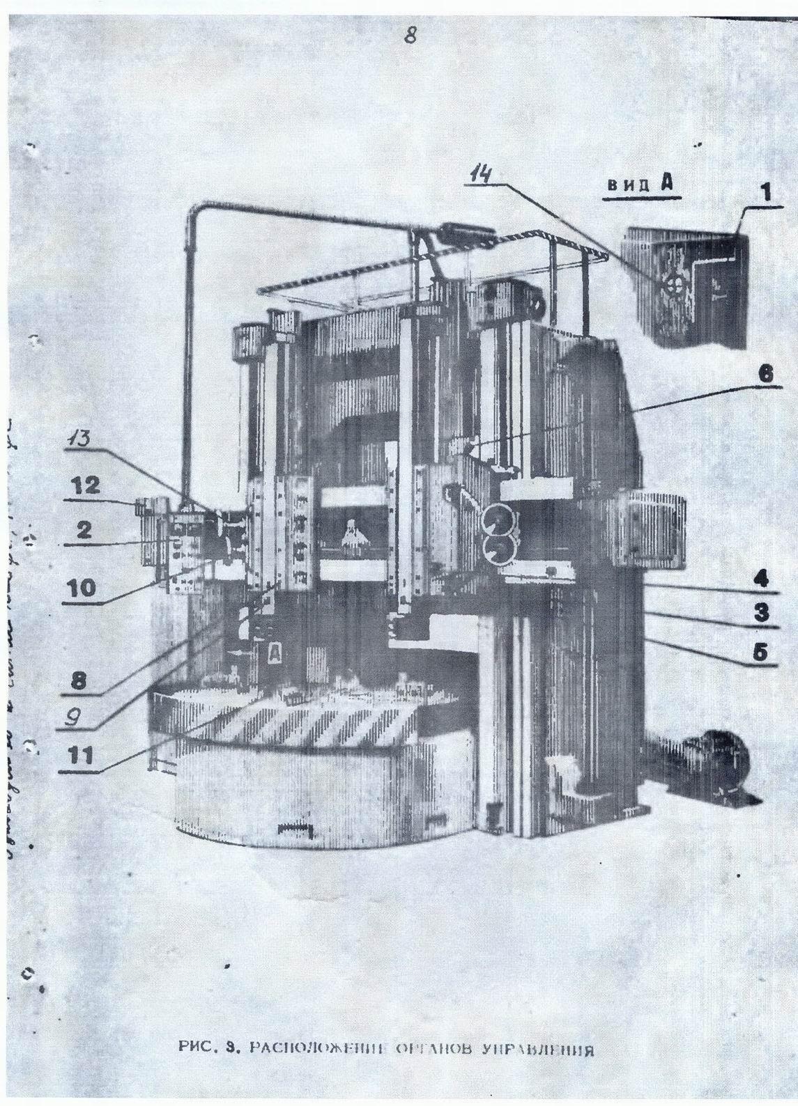 Токарно-карусельный станок 1516 — технические характеристики, паспорт