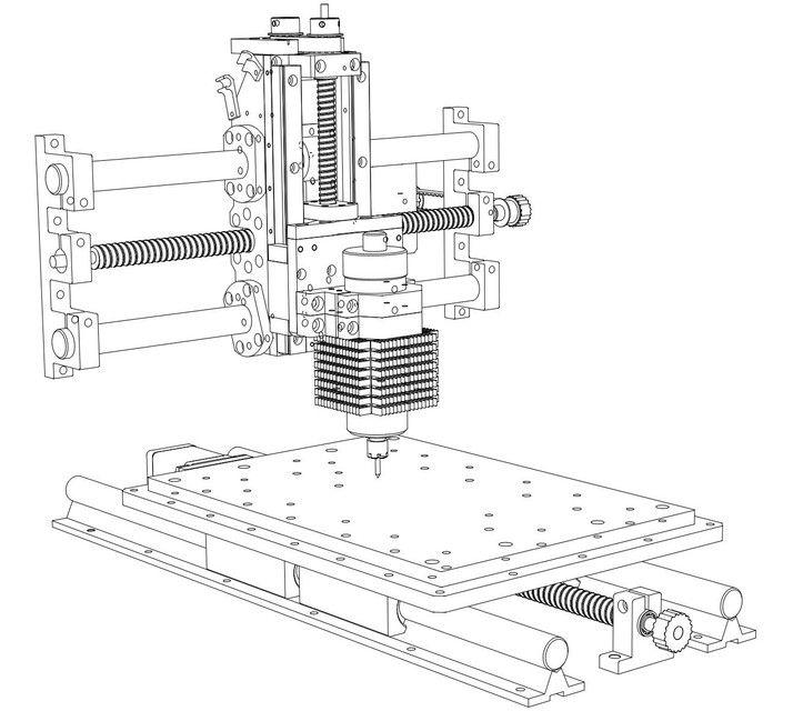 Строим самодельный чпу фрезерный станок: пошаговая инструкция
