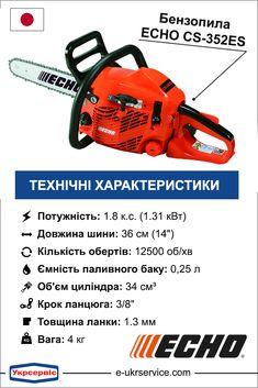 Бензопила echo cs-353es – сочетание профессионального качества и бюджетной стоимости