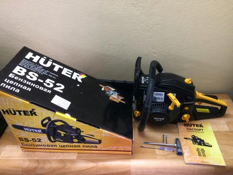 Бензопила huter bs-25 - описание модели, характеристики, отзывы