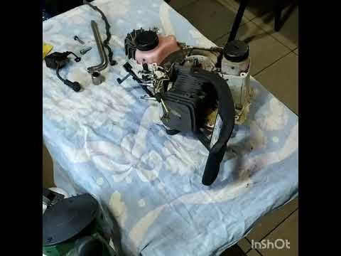 Как поменять поршневую на бензопиле stihl 180