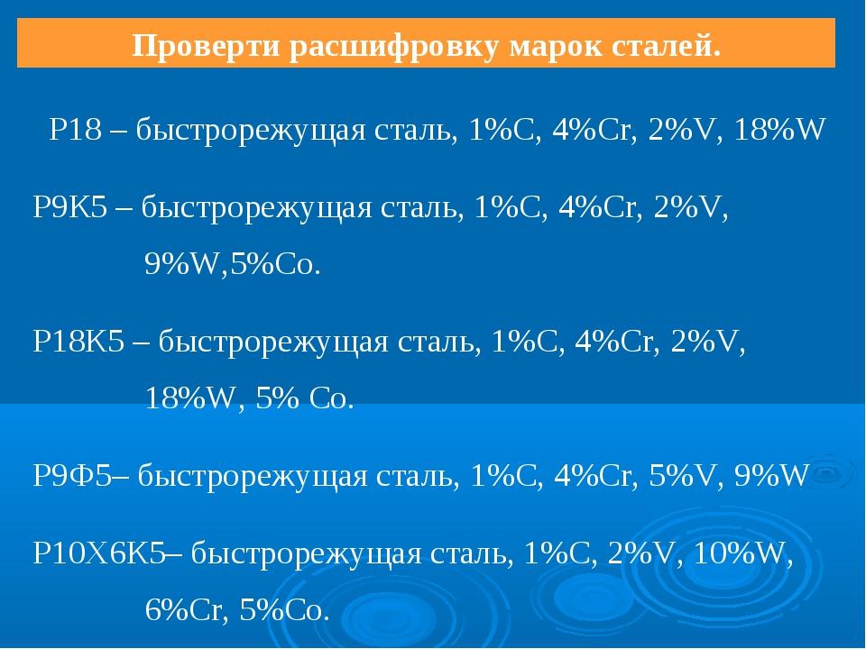 Термообработка р18: техпроцесс, советы / продажа р18 — промет-м