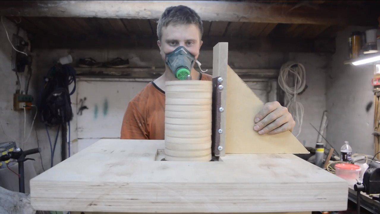 Осцилляционный шпиндельный шлифовальный станок своими руками - советы домашнему мастеру
