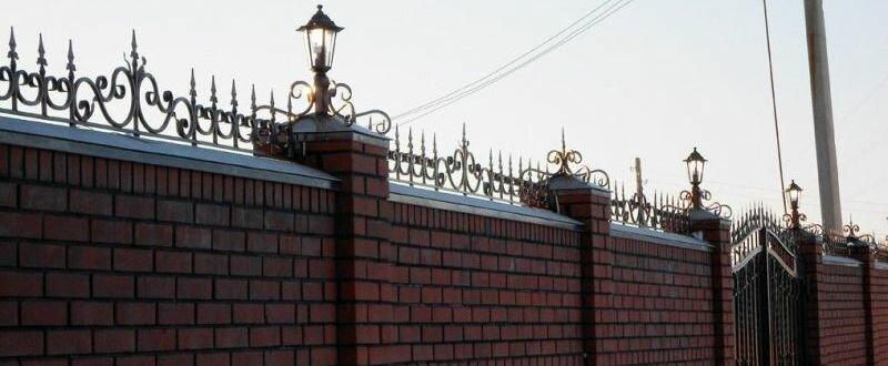 Кованые заборы для дома — оригинальное и изысканное украшение участка! (фото и видео)