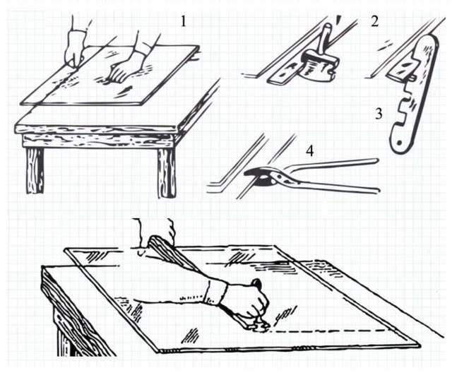 Как резать стекло стеклорезом в домашних условиях   советы и рекомендации от специалистов