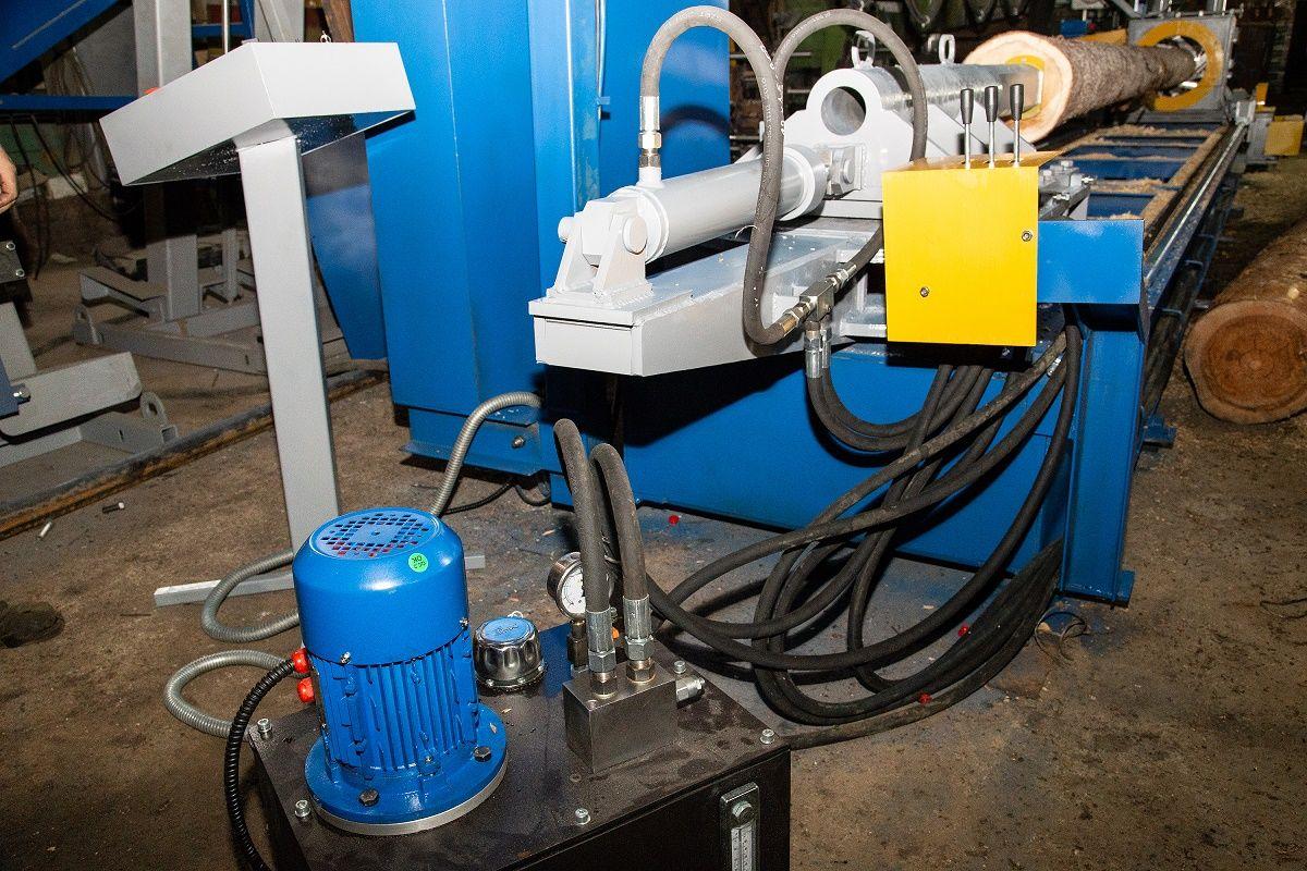 Оцилиндровочный станок для обработки бревен: конструкция и изготовление своими руками