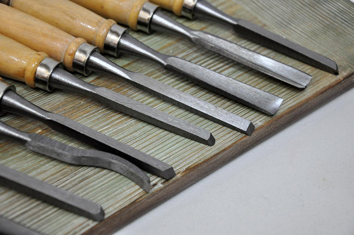 Инструменты для резьбы по дереву, названия