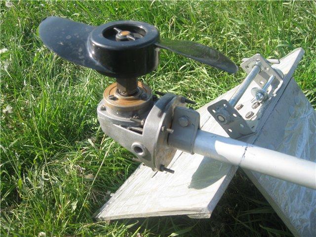 Лодочный мотор из бензопилы — изготовление, приимущества