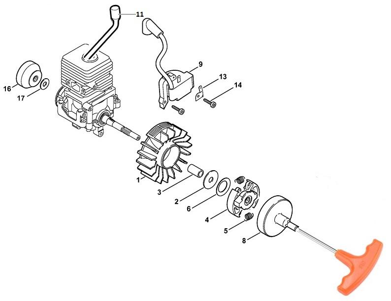Диагностика и ремонт триммера штиль 38 - диагностика и подбор з/ч
