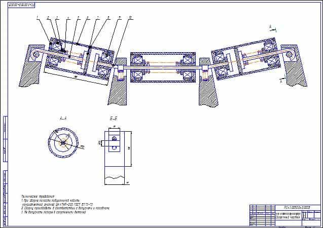 Гост 15516-76 секции конвейеров роликовых неприводных переносных общего назначения. типы. размеры