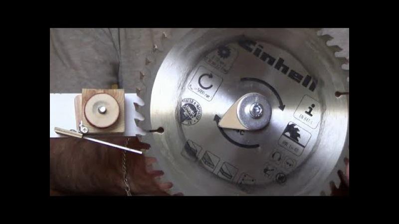 Заточка твердосплавной дисковой пилы: значение углов и формы зубьев