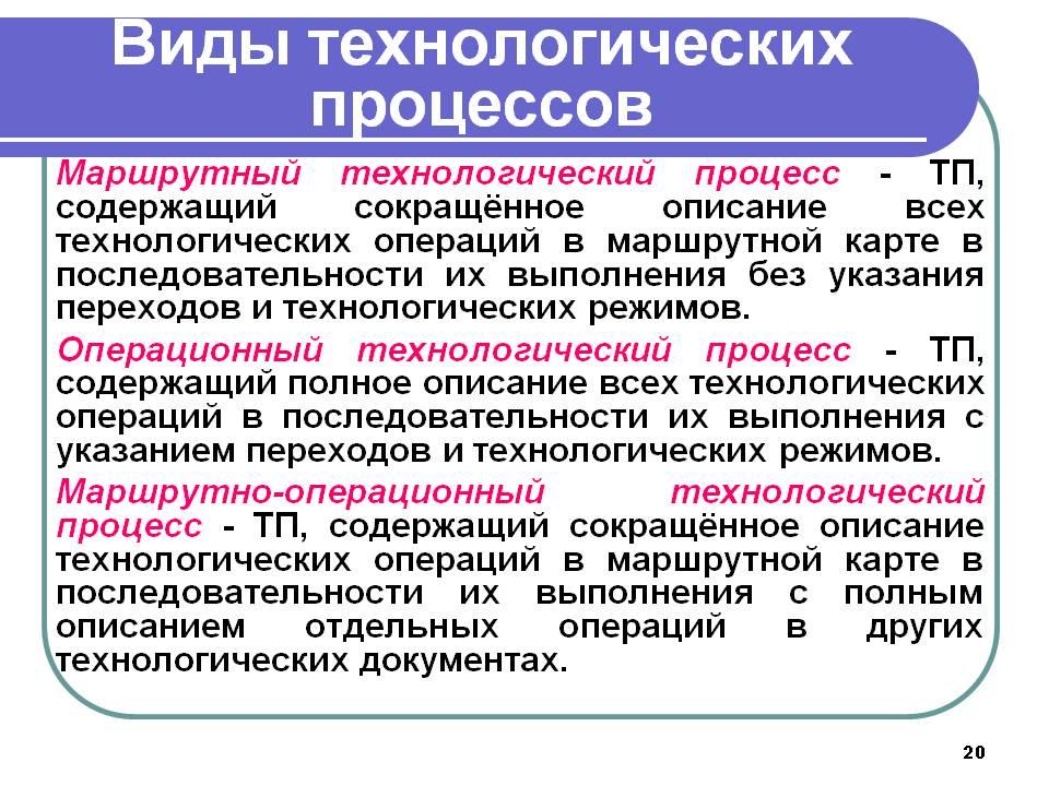 Технологический процесс — википедия