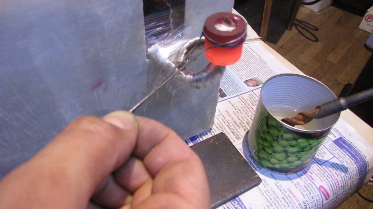 Тигель для плавки олова своими руками