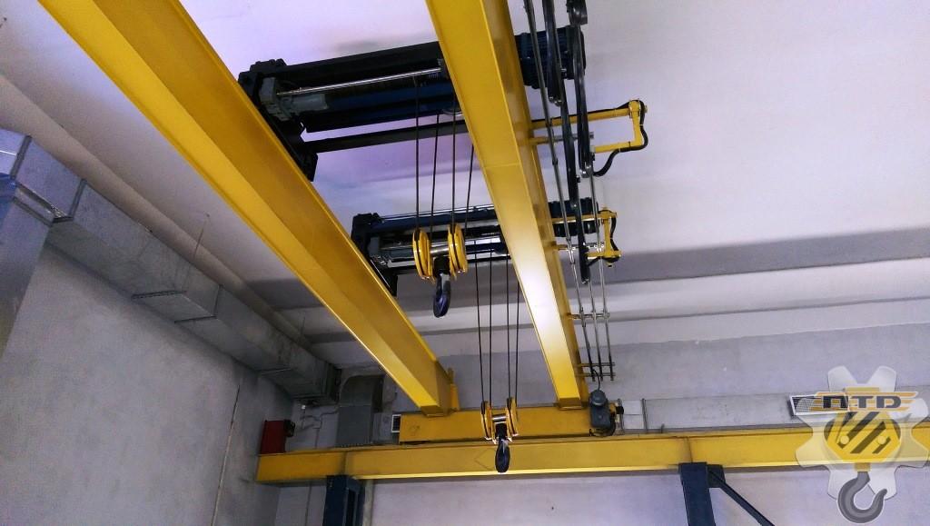 Как осуществляется монтаж мостового крана?