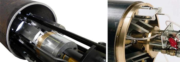 Центраторы для фиксации и сварки труб