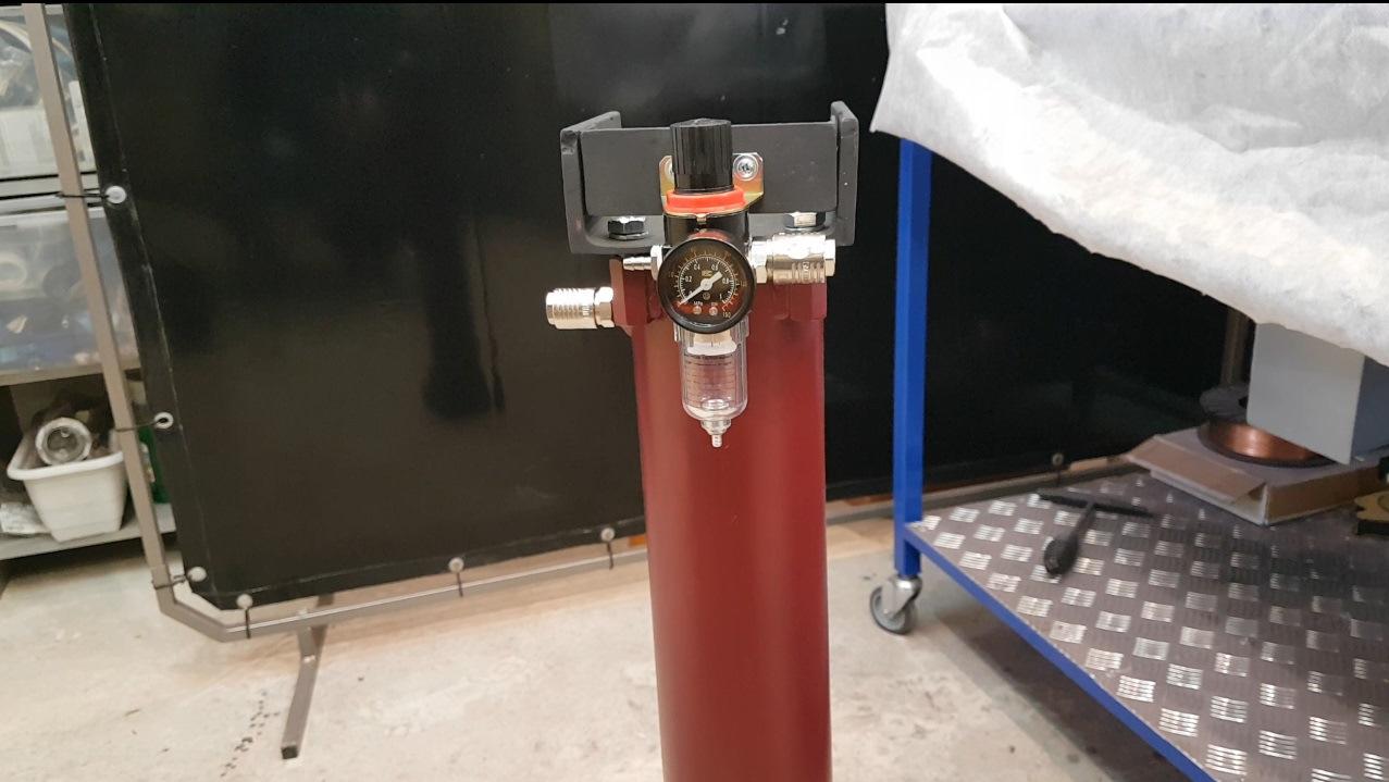 Самодельный влагоотделитель для компрессора своими руками - металл