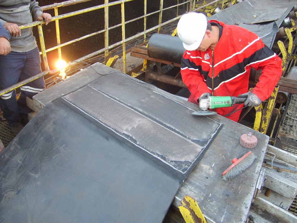 Способы соединения конвейерных лент - морской флот
