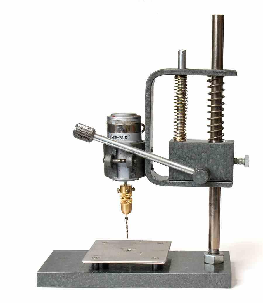Самодельные сверлильные станки для печатных плат