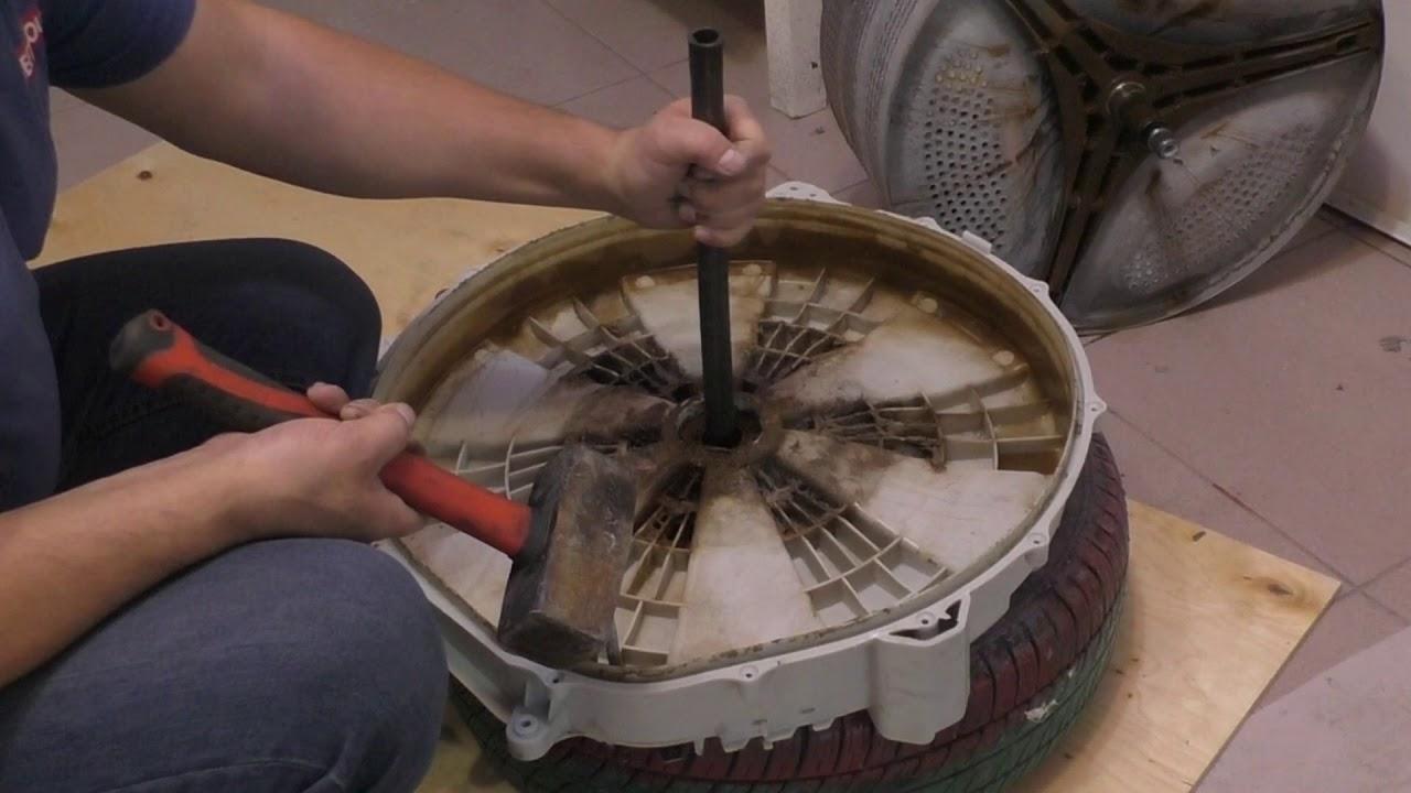 Ремонт и замена подшипника в стиральной машине