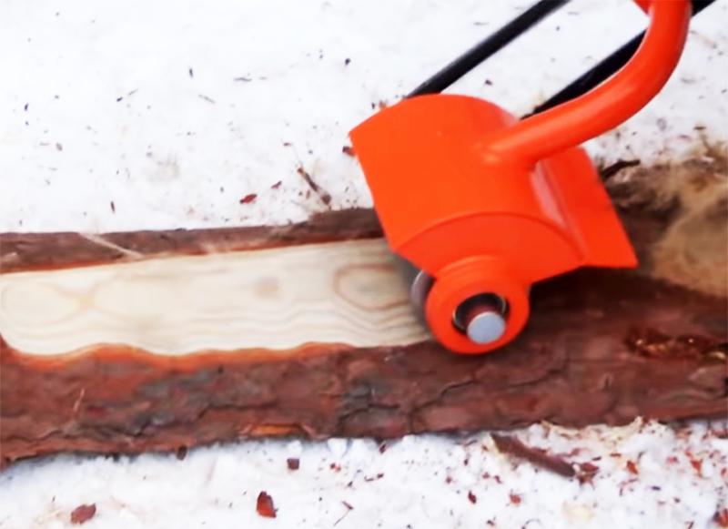 Как сделать болгарку из бензопилы своими руками