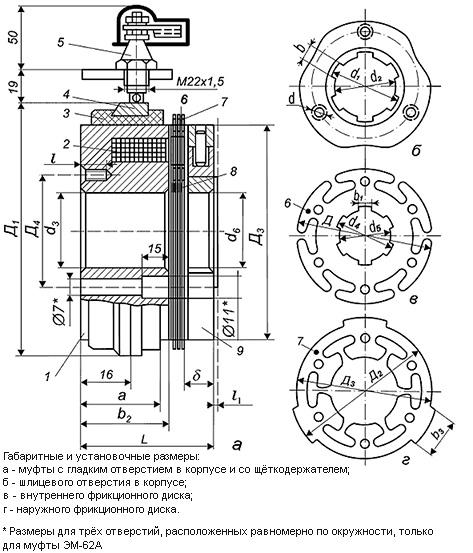 Муфты электромагнитные в москве