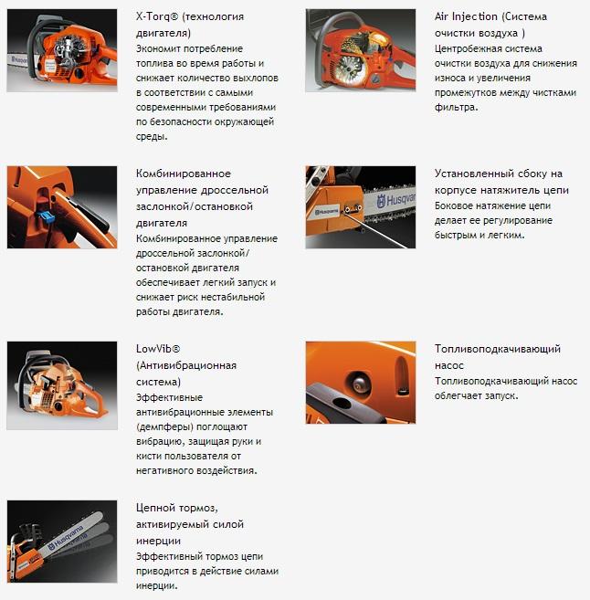 Пила хускварна (husqvarna) – характеристики и устройство цепной бензопилы, инструкция по эксплуатации, как пользоваться