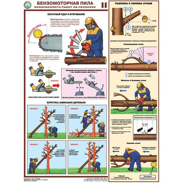 Как пользоваться бензопилой?
