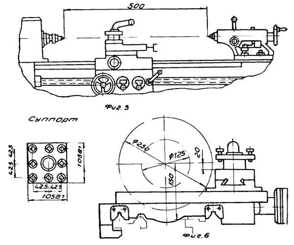 Технические характеристики и конструктивные особенности токарного станка иж-250