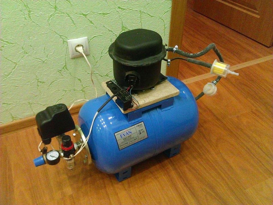 Как сделать воздушный компрессор своими руками: необходимые детали и пошаговая инструкция