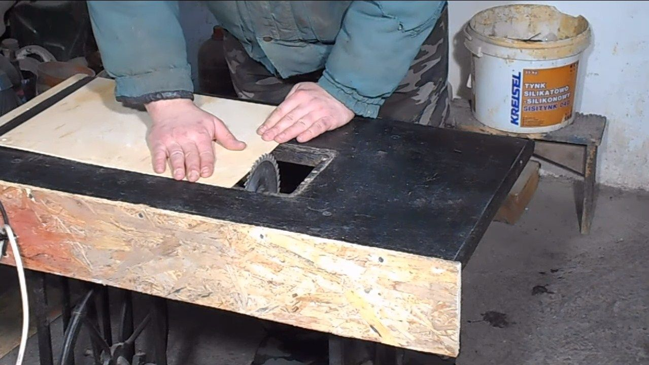 Циркулярка из двигателя стиральной машины своими руками