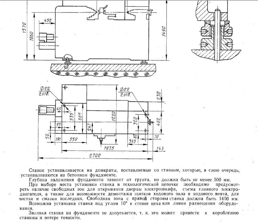 Монтаж фундамента под станок для обработки металла - клуб мастеров