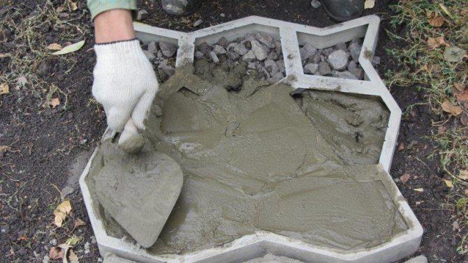Формы для бетона своими руками (видео)