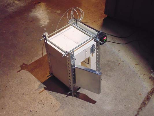 Муфельная печь своими руками на газу: изготовление газового прибора, как сделать устройство для фьюзинга