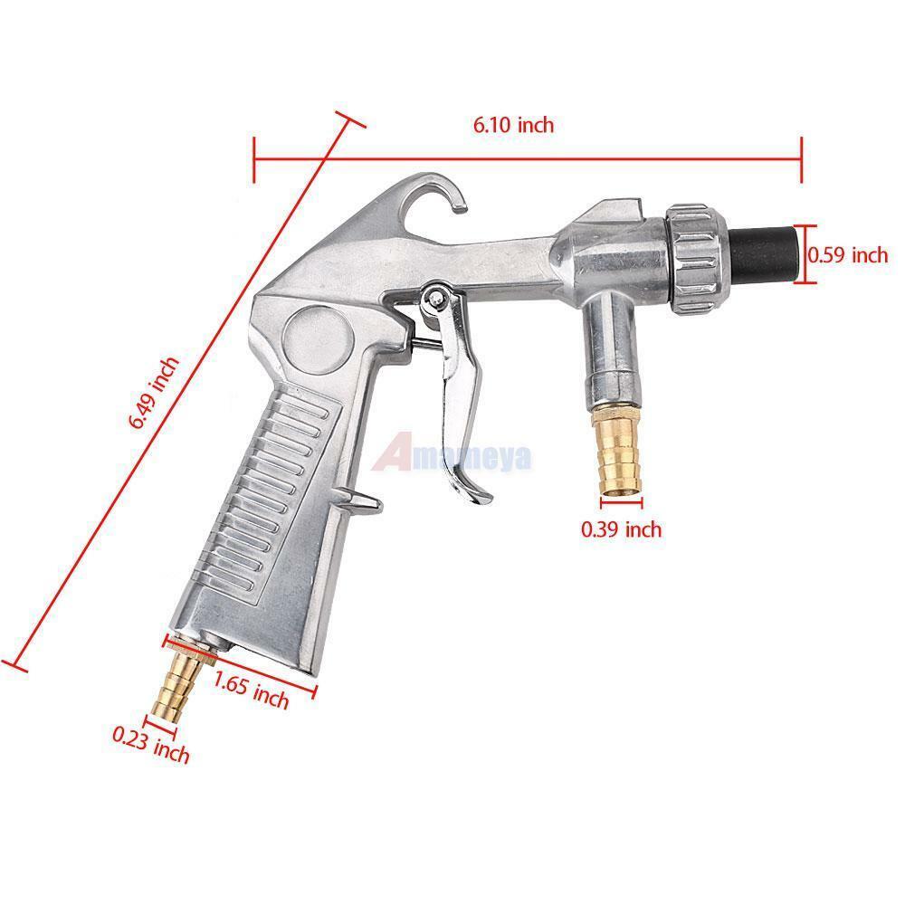 Выбираем пистолет для пескоструйной обработки