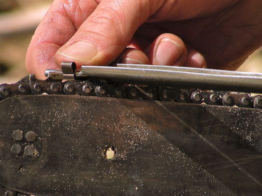 Как правильно заточить цепь бензопилы своими руками
